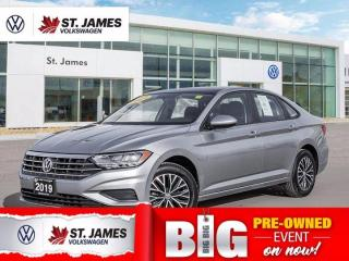 Used 2019 Volkswagen Jetta Highline, Clean Carfax, Apple CarPlay, Heated Seats for sale in Winnipeg, MB