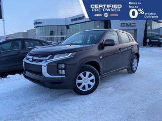 Used 2020 Mitsubishi RVR ES AWD | Heated Seats | Touchscreen Radio for sale in Winnipeg, MB