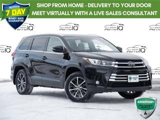 Used 2017 Toyota Highlander XLE AWD 8 PASSENGER | Leather | Sunroof | Navigation for sale in Welland, ON