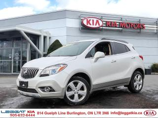 Used 2015 Buick Encore Leather/premium Sound/Camera/Heated seats/New Tires! for sale in Burlington, ON