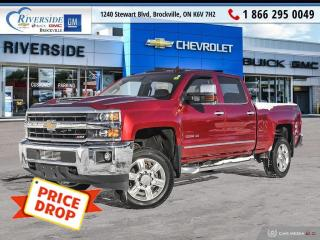 Used 2019 Chevrolet Silverado 2500 HD LTZ for sale in Brockville, ON
