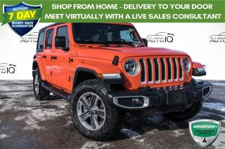 Used 2019 Jeep Wrangler Unlimited Sahara **ONE OWNER!! HEATED SEATS!** for sale in Barrie, ON