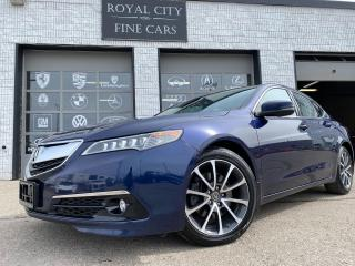 Used 2015 Acura TLX Tech NAV SUNROOF Summer and Winter Tires for sale in Guelph, ON