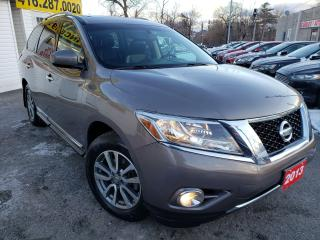 Used 2013 Nissan Pathfinder SL/4WD/LEATHER/SUNROOF/B.CAM/HEATED for sale in Scarborough, ON