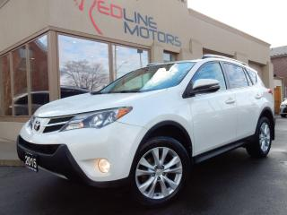 Used 2015 Toyota RAV4 Limited.Navigation.Camera.Leather.Roof.OneOwner for sale in Kitchener, ON