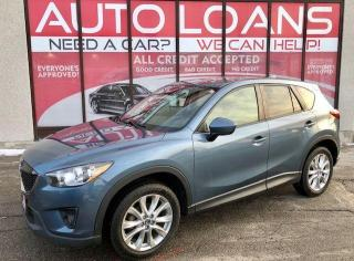 Used 2014 Mazda CX-5 GT-ALL CREDIT ACCEPTED for sale in Toronto, ON