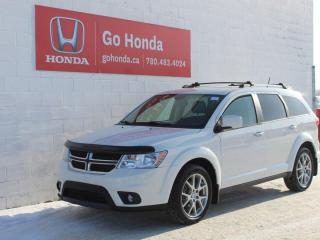 Used 2017 Dodge Journey AWD GT LEATHER/NAV/BLUE TOOTH/HEATED SEATS for sale in Edmonton, AB