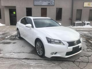 Used 2014 Lexus GS 350 AWD,NAV,PUSH BUTTON START!NO ACCIDENTS! for sale in Burlington, ON