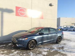 Used 2018 Ford Fusion SE / Sunroof / Leather / WHAT A DEAL / Automatic for sale in Edmonton, AB