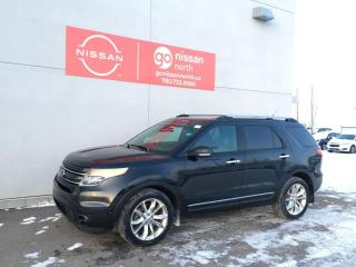 Used 2014 Ford Explorer Limited / 4WD / Leather / Sunroof / Bluetooth / Touch Screen / 7 Seats for sale in Edmonton, AB