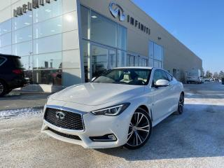 Used 2018 Infiniti Q60 PROACTIVE PKG, CPO, ACCIDENT FREE for sale in Edmonton, AB