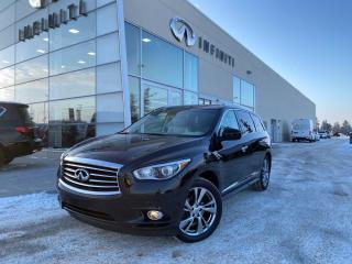 Used 2014 Infiniti QX60 TECH W/ THEATRE PKG, ACCIDENT FREE for sale in Edmonton, AB