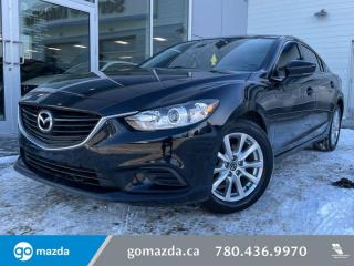Used 2017 Mazda MAZDA6 GX - MANUAL, BACK UP, BLUETOOTH, EXTREMELY LOW KMS!!!! for sale in Edmonton, AB