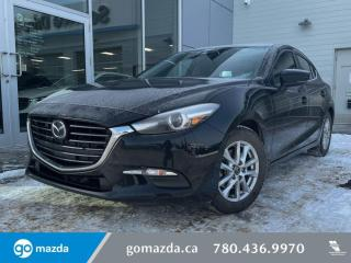 Used 2018 Mazda MAZDA3 Sport GS - CLOTH, HEATED SEATS, BLUETOOTH, LOW KMS! GREAT FIRST VEHICLE! for sale in Edmonton, AB