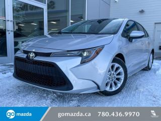 Used 2020 Toyota Corolla LE - AUTO, HEATED SEATS, BACK UP, BLUETOOTH for sale in Edmonton, AB