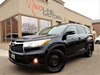 Used 2015 Toyota Highlander XLE AWD.Navigation.Camera.Leather.Roof.8Passenger for sale in Kitchener, ON