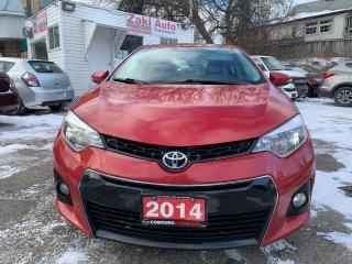 Used 2014 Toyota Corolla S/Safety Certification included Asking price for sale in Toronto, ON