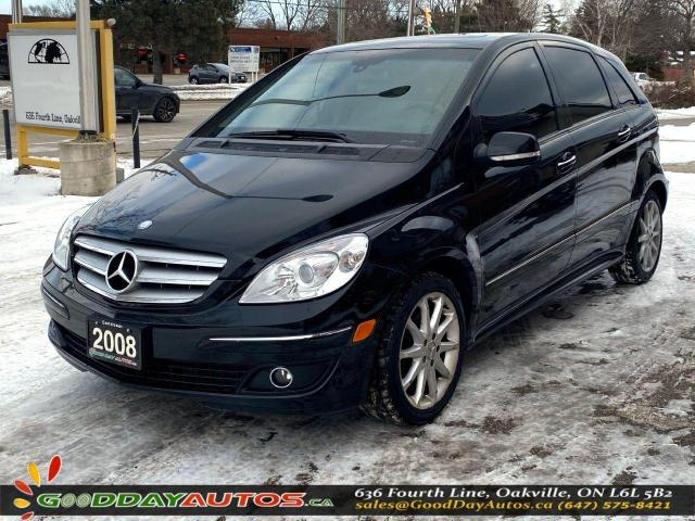 2008 Mercedes-Benz B-Class Turbo|LOW KM|NO ACCIDENT|SUNROOF|BLUETOOTH|CERT.