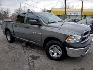 Used 2012 RAM 1500 ST/4X4/QREWCAB/ALLOYWHEELS+++ for sale in Scarborough, ON