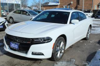 Used 2020 Dodge Charger SXT AWD Sunroof Leather for sale in Brampton, ON