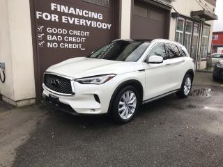 Used 2019 Infiniti QX50 Essential NAV PKG for sale in Abbotsford, BC