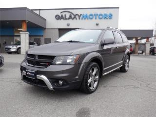 Used 2016 Dodge Journey CROSSROAD-NAV, LEATHER, SUNROOF for sale in Victoria, BC