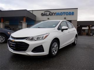 Used 2019 Chevrolet Cruze LS-BLUETOOTH, USB, AUX for sale in Duncan, BC
