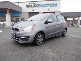 Used 2017 Mitsubishi Mirage Bluetooth, AC, AUX, for sale in Duncan, BC