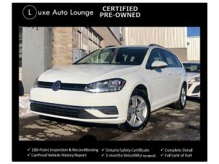 Used 2019 Volkswagen Golf SportWagen AWD, ADAPTIVE CRUISE, BLIND SPOT DETECTION!! for sale in Orleans, ON