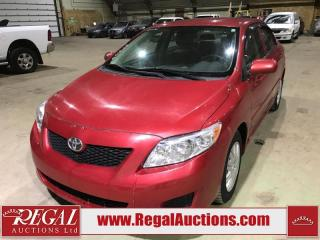 Used 2010 Toyota Corolla CE 4D Sedan FWD for sale in Calgary, AB