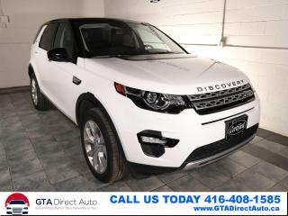 Used 2018 Land Rover Discovery Sport HSE 7-Passenger 3Row Nav Pano Camera Xen Certified for sale in Toronto, ON