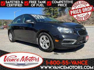 Used 2015 Chevrolet Cruze LT 1LT for sale in Bancroft, ON