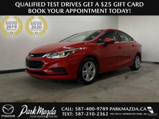 Used 2017 Chevrolet Cruze LT for sale in Sherwood Park, AB