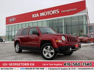 Used 2015 Jeep Patriot Limited | 4WD | LTHR | NAV | ROOF | B/TOOTH | 121K for sale in Georgetown, ON