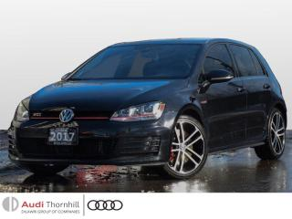 Used 2017 Volkswagen Golf GTI Performance for sale in Thornhill, ON