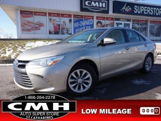 Used 2015 Toyota Camry LE  CAM BLUETOOTH S/W-AUDIO PWR-GROUP for sale in St. Catharines, ON