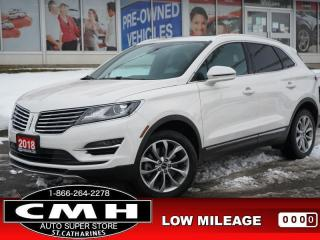 Used 2018 Lincoln MKC Select AWD  CAM ROOF LEATH HTD-S/W P/GATE 18-AL for sale in St. Catharines, ON
