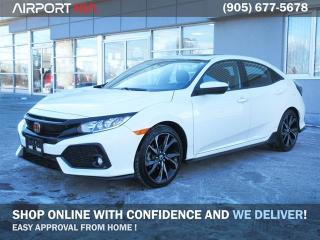 Used 2018 Honda Civic Hatchback Sport / Winter Tires and rims included/ Honda Extended Warranty Included/Power Sunroof/Camera/Heated seats/Push Start for sale in Mississauga, ON