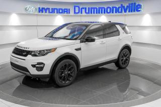 Used 2017 Land Rover Discovery Sport HSE + GARANTIE + TOIT PANO + CUIR + WOW for sale in Drummondville, QC
