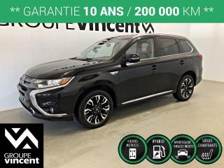 Used 2018 Mitsubishi Outlander PHEV SE AWD ** GARANTIE 10 ANS ** Occasion à saisir, VUS hybride branchable! for sale in Shawinigan, QC