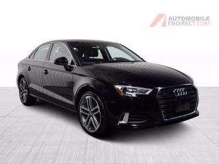 Used 2018 Audi A3 PROGRESSIV AWD CUIR TOIT GPS for sale in St-Hubert, QC