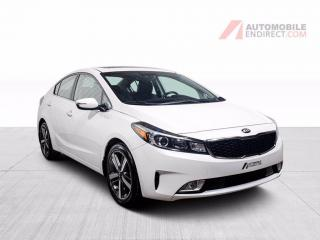 Used 2017 Kia Forte SX CUIR TOIT NAV MAGS for sale in St-Hubert, QC