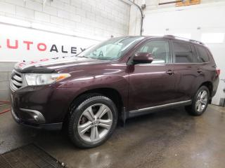 Used 2013 Toyota Highlander 4WD 7 PASSAGER CUIR TOIT MAGS 19 CAMERA for sale in St-Eustache, QC