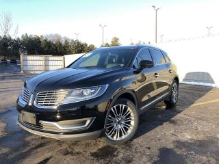 Used 2016 Lincoln MKX RESERVE AWD for sale in Cayuga, ON
