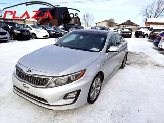 Used 2016 Kia Optima Hybrid 4DR SDN EX for sale in Beauport, QC
