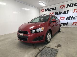 Used 2014 Chevrolet Sonic UNKNOWN COMME NEUVE !! for sale in La Sarre, QC