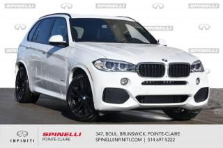 Used 2017 BMW X5 XDrive35i ///M SPORT PACKAGE - PREM. ENHANCED ! X5 xDrive35i / GROUPE M SPORT / APPLE CARPLAY / NAVIGATION / SYSTEME '' SOFT CLOSE DOORS '' for sale in Montréal, QC