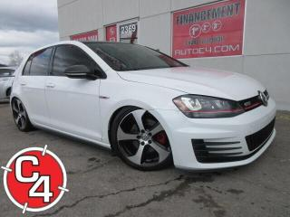Used 2015 Volkswagen Golf GTI CUIR TOIT DSG for sale in St-Jérôme, QC