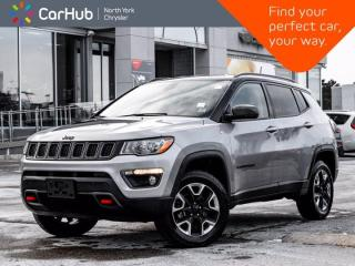 Used 2018 Jeep Compass Trailhawk 4x4 Heated Seats Navigation Backup Camera for sale in Thornhill, ON