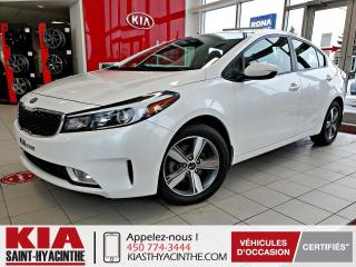 Used 2018 Kia Forte LX+ * CAMÉRA DE RECUL / SIÈGES CHAUFFANT for sale in St-Hyacinthe, QC